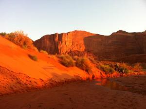 Monument Valley Sun Sand
