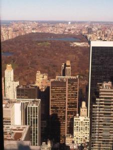 View From Rockefeller Centre