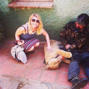 Castellar Zoo Spain lion cub