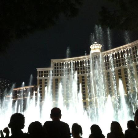 Las vegas bellagio fountains