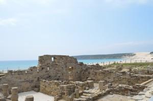tarifa beach roman ruins