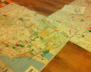 road trip map planning