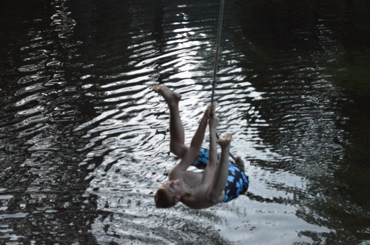 Yosemite rope swing