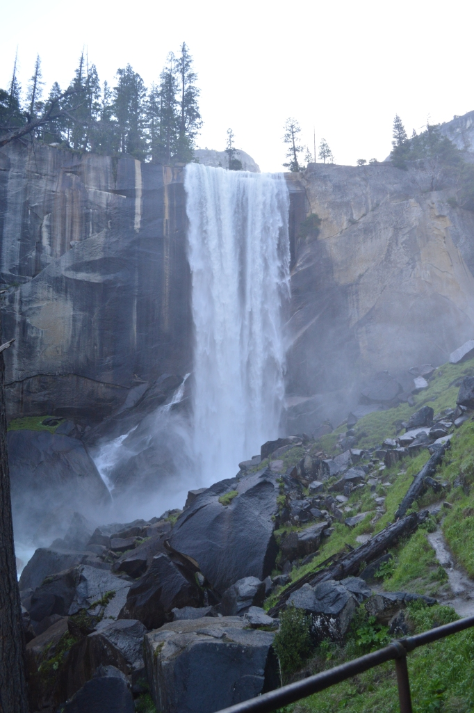 John Muir Mist Trail Yosemite Hike