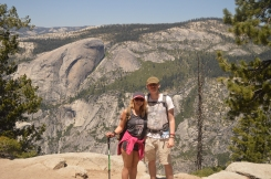 Yosemite, half dome hike