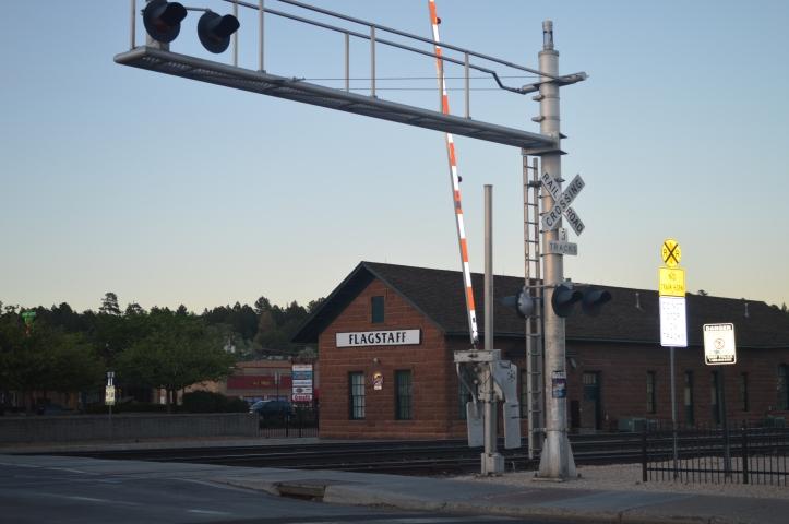 railway old town Flagstaff Arizona