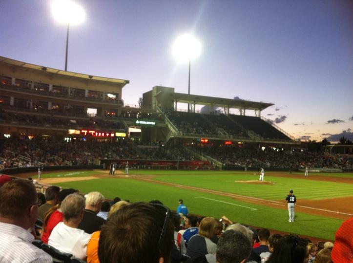 Albuquerque Isotopes baseball game