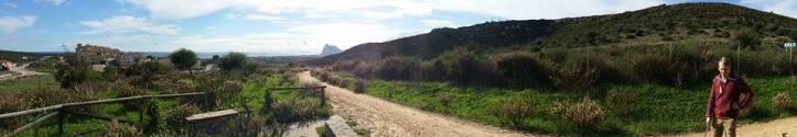 panoramic gibraltar spain