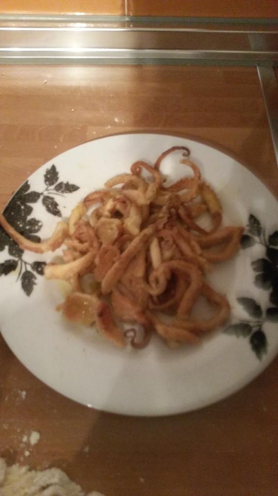 fried baby octopus recipe